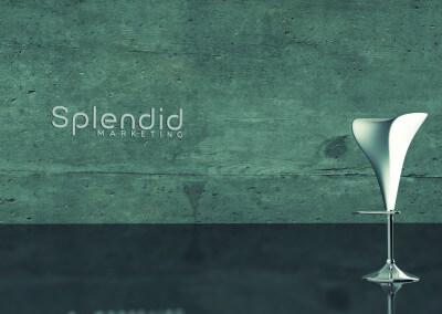 Minimalismus 3D-Rendering by Splendid