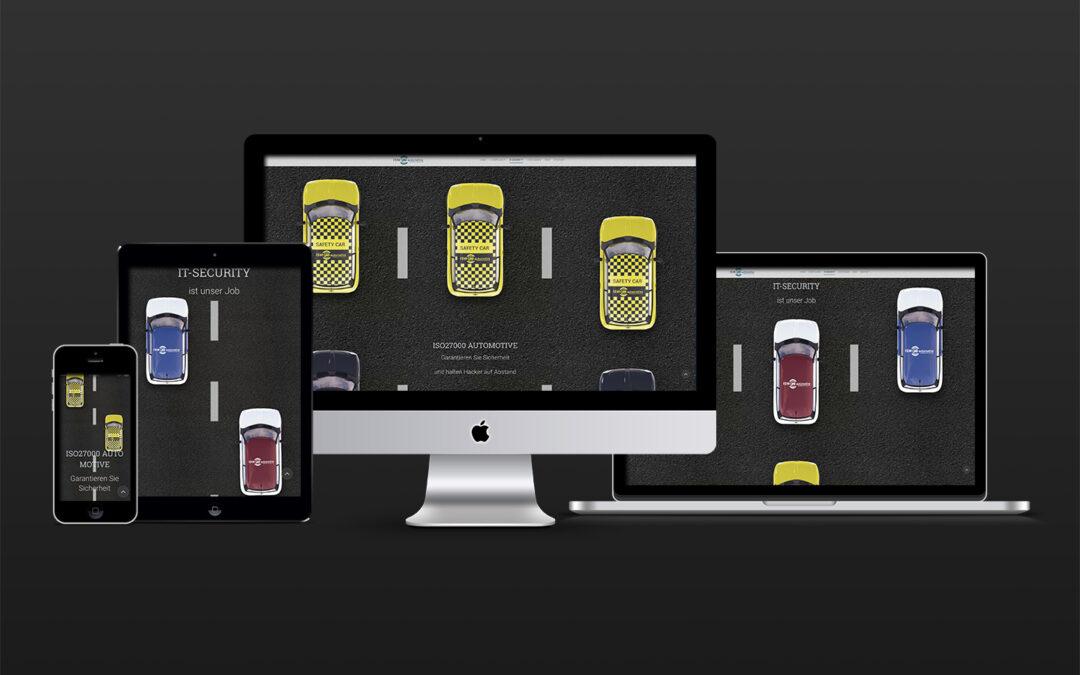 Landing Page Design IT-Compliance