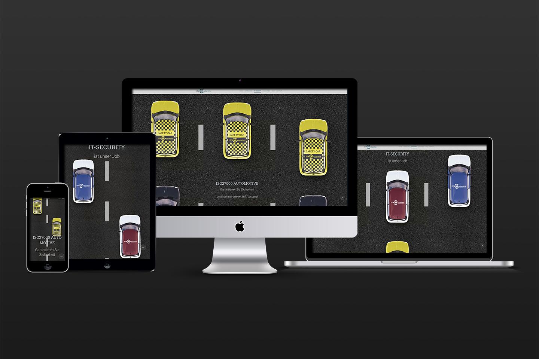 Landing Page Design responsive Design desktop