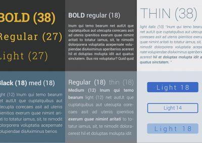 Landing Page Design - Typologie