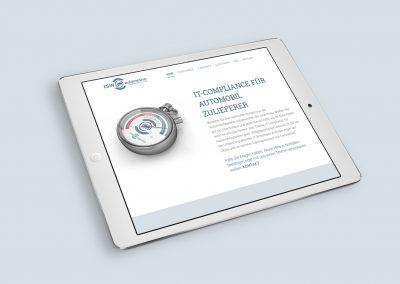 Landing Page Design responsive Design iPad