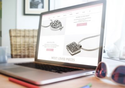 Webshop Aroma Dream Jewelry