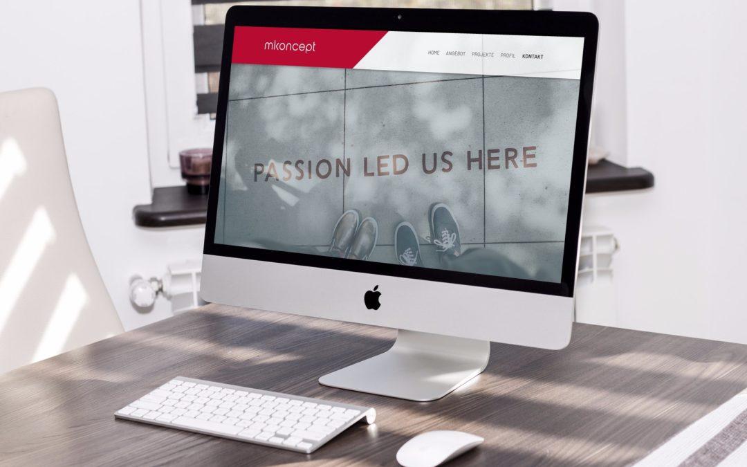 Webdesign mkoncept