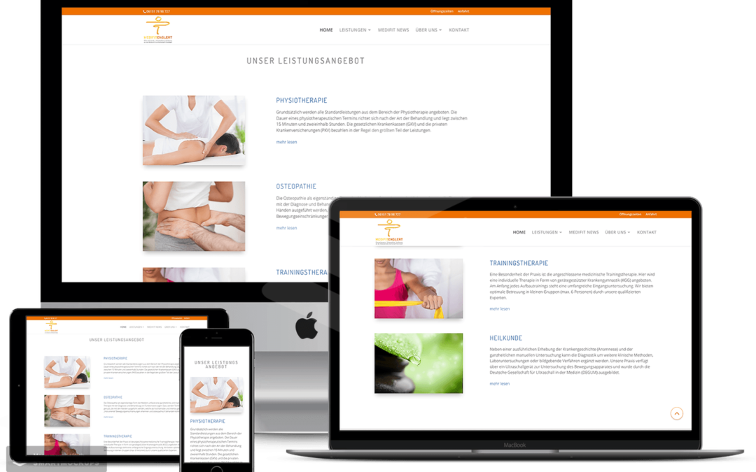 Webseiten Relaunch — Physiotherapie Englert
