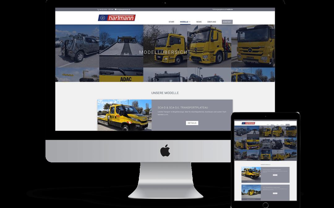 Webdesign — Spezialfahrzeuge Bergemeister