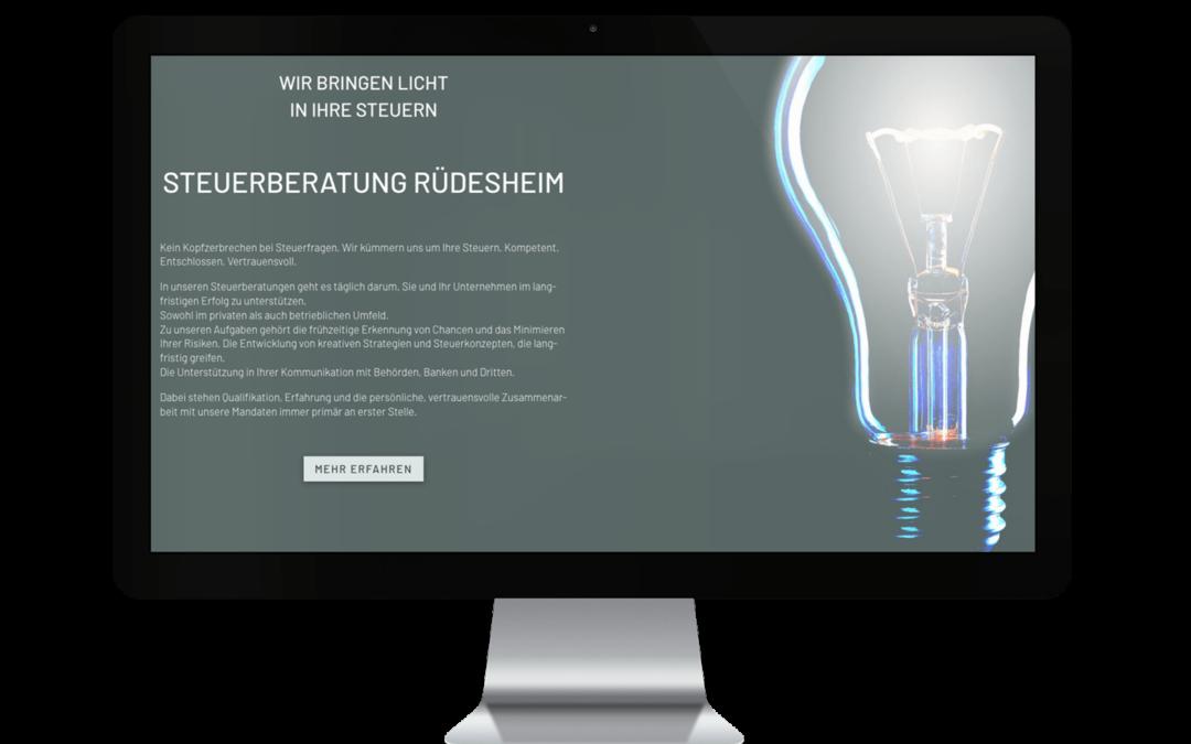 Webdesign für Steuerberatung Lawatsch